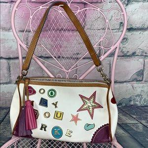 Dooney & Bourke treasured charm shoulder bag